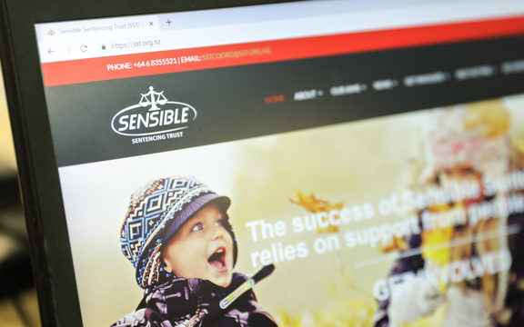 The Sensible Sentencing Trust website