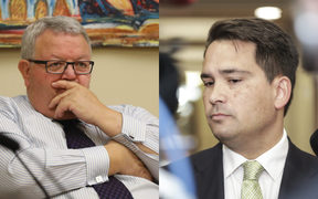 Gerry Brownlee and Simon Bridges