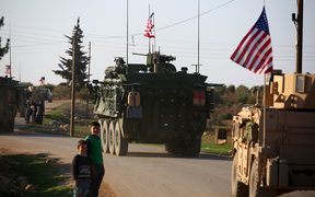 The USA Military has been aiding Syrian Democratic Forces in the fight against IS.