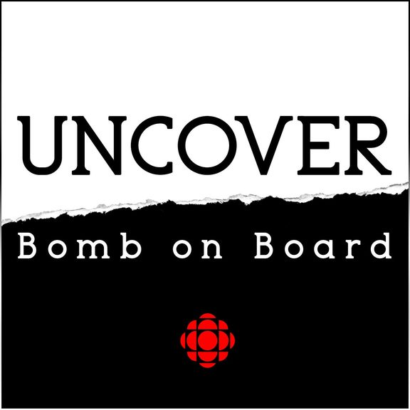 Uncover Bomb On Board logo (Supplied by CBC)