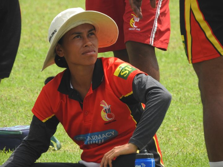 Cricket PNG national strength and conditioning coach Meiling Choong.