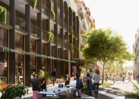 A concept plan for new housing planned for central Christchurch, which has sustainability and community at its heart, developers say.