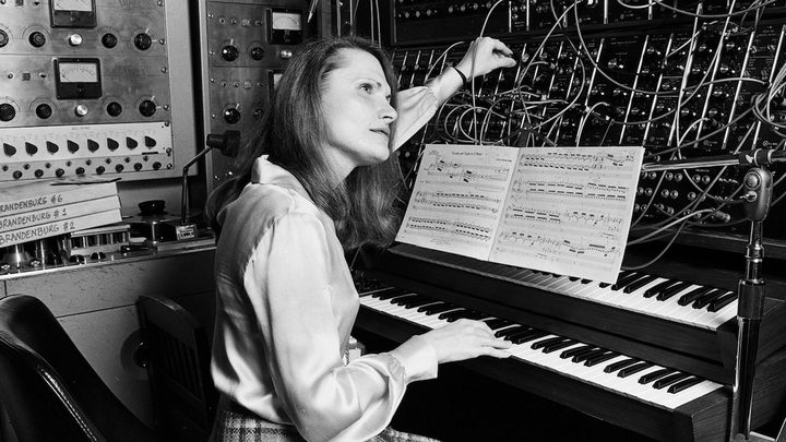 Wendy Carlos and her Moog Synthesizer 1979