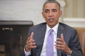 Barack Obama said Iraq was going to need more help from the United States.