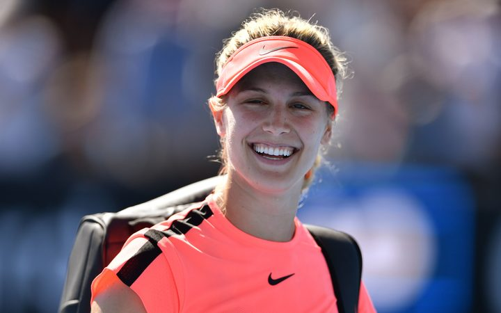 Eugenie Bouchard safely navigates opening round in Auckland — ASB Classic