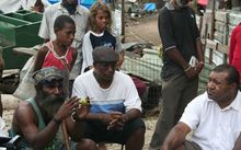 Paga Hill community leaders discuss their eviction in 2012, Port Moresby