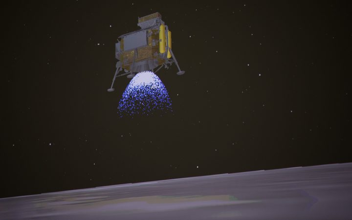 First Landing Made On Moon's Far Side