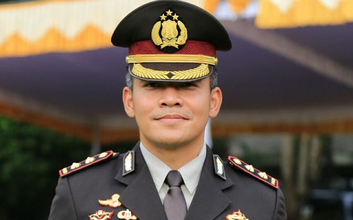 Police Chief in Timika, Agung Marlianto