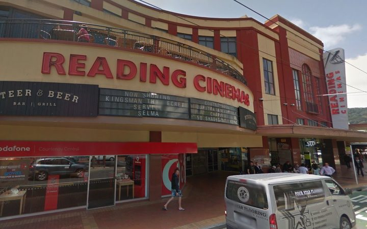 Reading Cinemas on Courtenay Place.