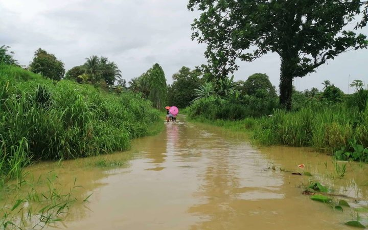 The Solomon Islands has been drenched by two weeks of unrelenting heavy rain that has caused extensive flooding, including here in Eastern Guadalcanal.