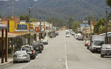 The town of Reefton.