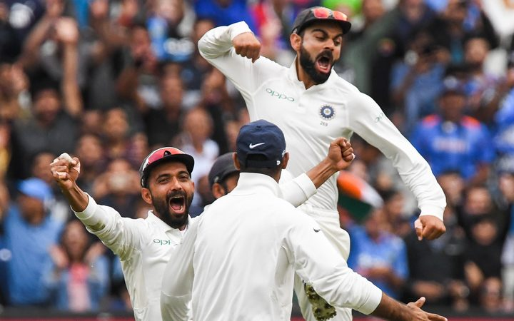 Indian fans jubilant after historic Test series win
