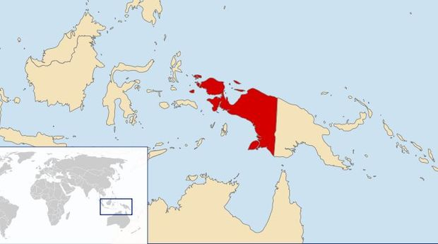 Indonesia's Papua region: the provinces of West Papua and Papua