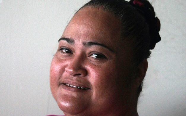 Yap's Chief of Public Health, Celine Tacheliol