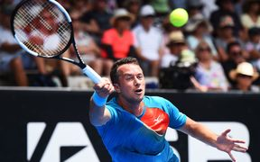 Philipp Kohlschreiber from Germany during the ASB Classic.