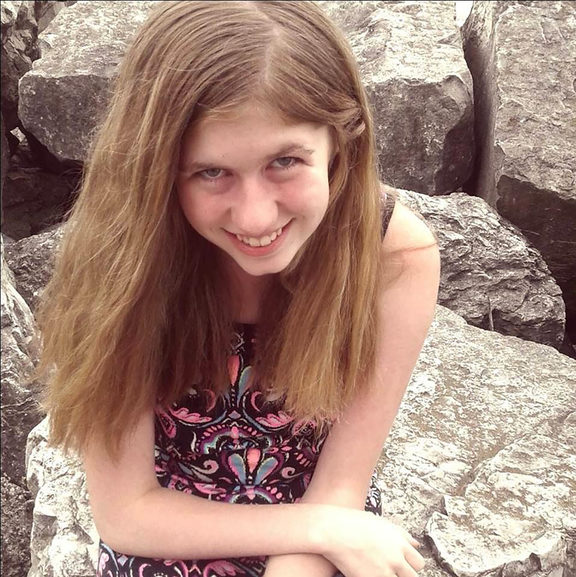 (FILES) This file photo of an undated image released by the Barron County Sheriff's Department in Wisconsin on October 15, 2018 shows missing 13-year-old Jayme Closs.