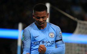 Gabriel Jesus of Manchester City.
