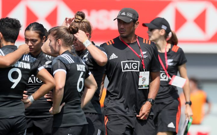 Allan Bunting, head coach, New Zealand Women's Rugby Sevens team the Black Ferns Sevens.