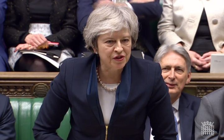 Britain's Prime Minister Theresa May  wraps up five days of debate before a parliamentary vote on her Brexit deal.