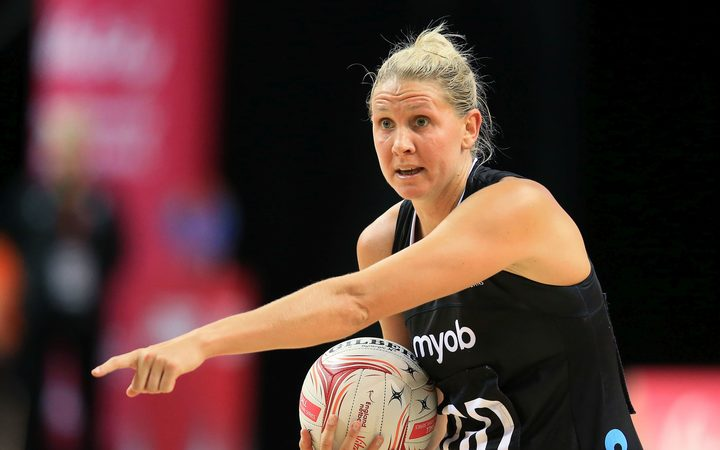 Casey Kopua of New Zealand Silver Ferns.