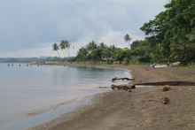 East New Britain shoreline, Papua New Guinea.