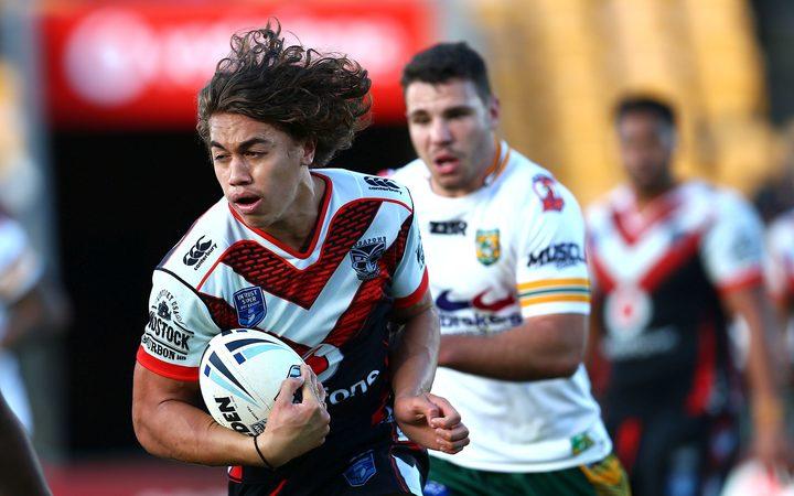 新西兰勇士队球员香奈儿哈里斯 - 塔维塔。