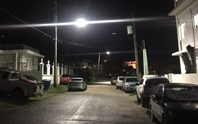 More Saipan neighbourhoods are now lit at night after the resumption of power supplies
