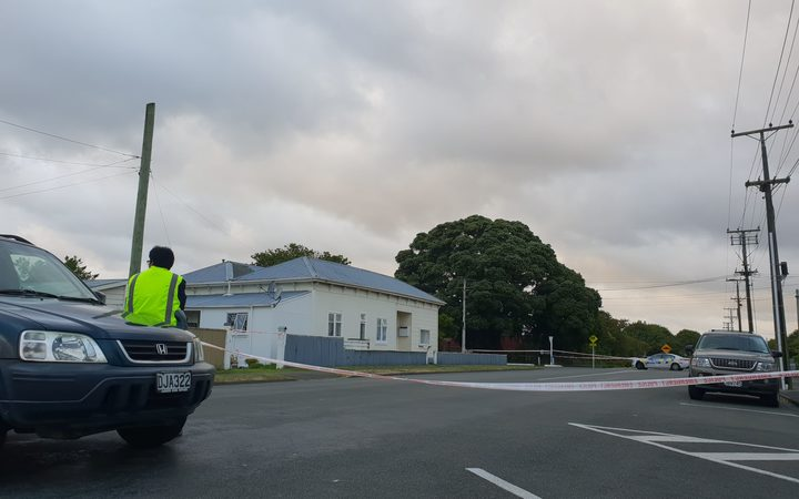 The morning after the stabbing incident in Whanganui
