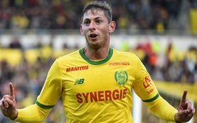 Argentinian forward Emiliano Sala