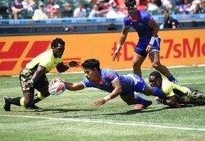 Murphy Paulo last played for Samoa at the Rugby World Cup Sevens in July.