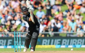 Kane Williamson in action for the Black Caps.