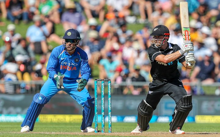Kane Williamson top scored for the Black Caps with 64.