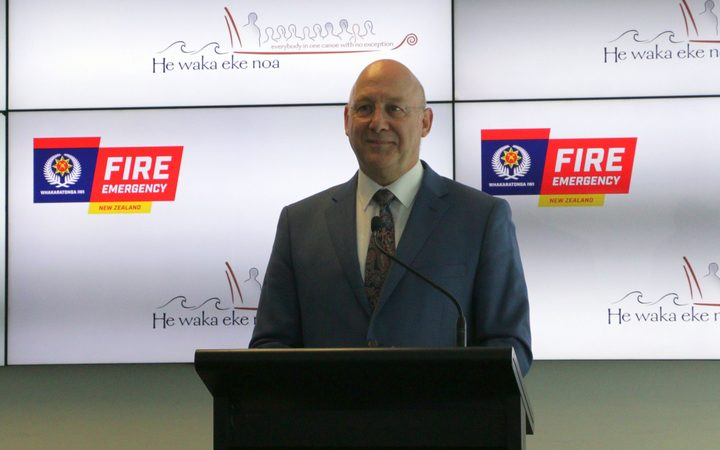 Fire and Emergency chief executive Rhys Jones