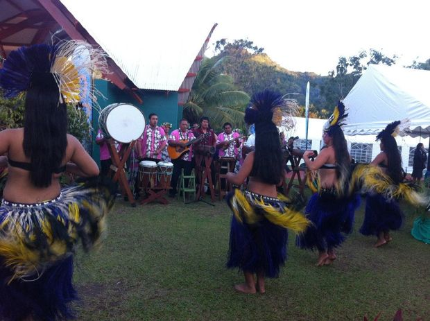 Dancers in the Cook Islands