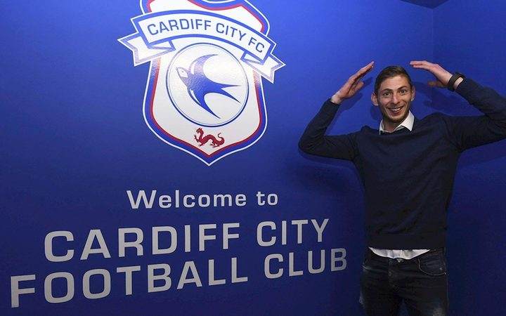 Emiliano Sala only signed with Cardiff City last week.