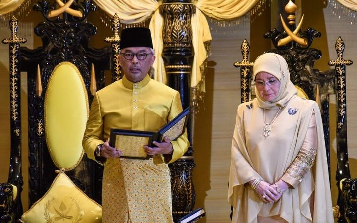 Sultan of Pahang elected as new Malaysian King
