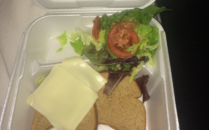 The now infamous Fyre Festival catering