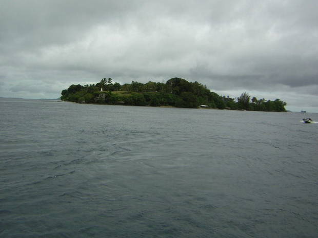 An island in Bougainville, Papua New Guinea