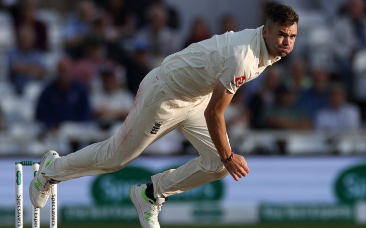 England pace bowler James Anderson has