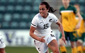 New Zealand striker Emma Kete.