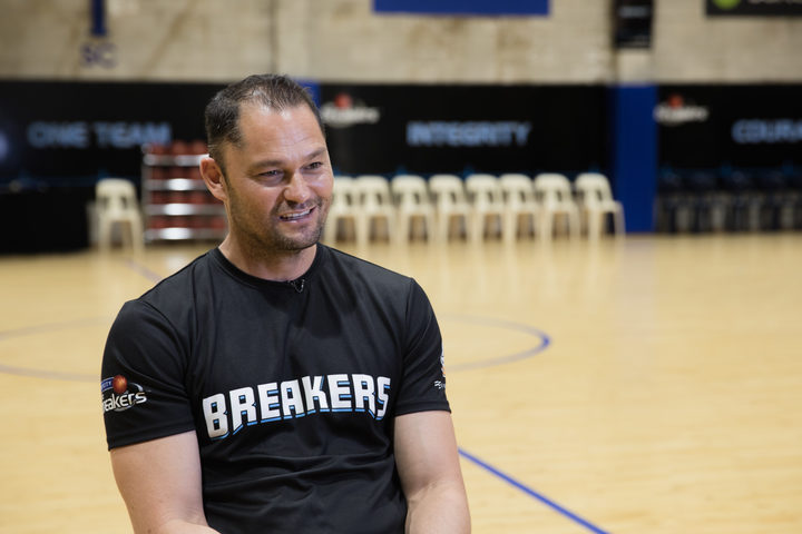 Breakers assistant coach Judd Flavell.