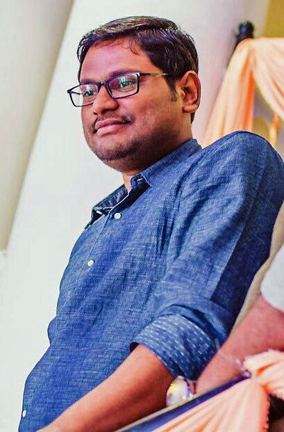 A recent photo of Rahul Reddy in Hyderabad.