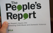 Glenn Inquiry into child abuse and domestic violence. The People's Report.