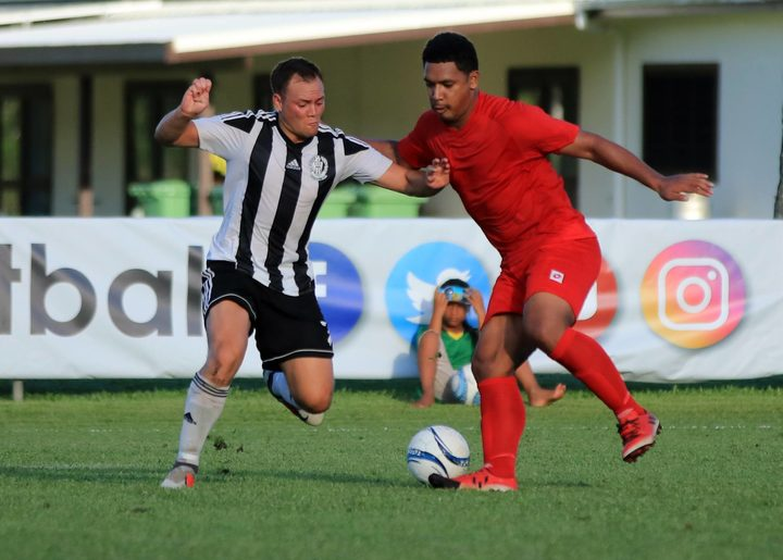 Tupapa Maraerenga proved too strong for Lotoha'apai United.