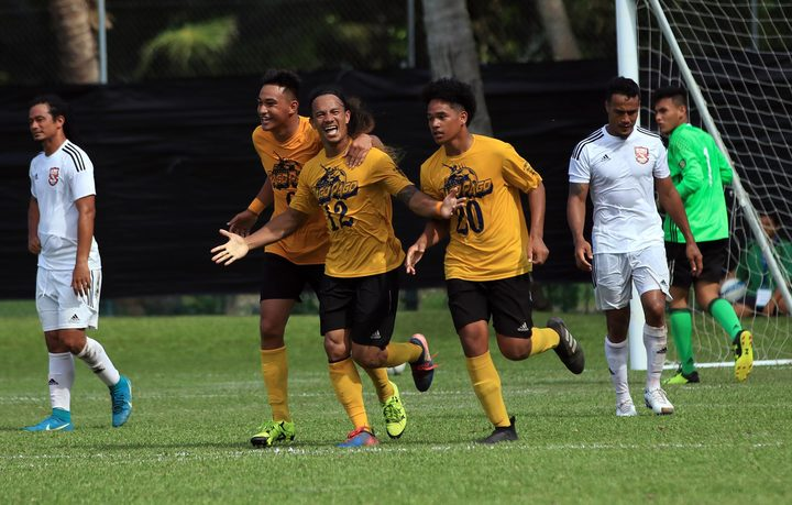Palauni Tapusoa scored a hat-trick for Pago Youth.