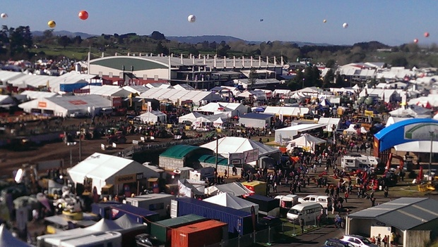 The national agricultural expo at Mystery Creek.