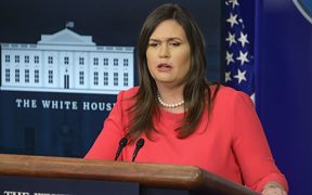 White House Press Secretary Sarah Huckabee Sanders
