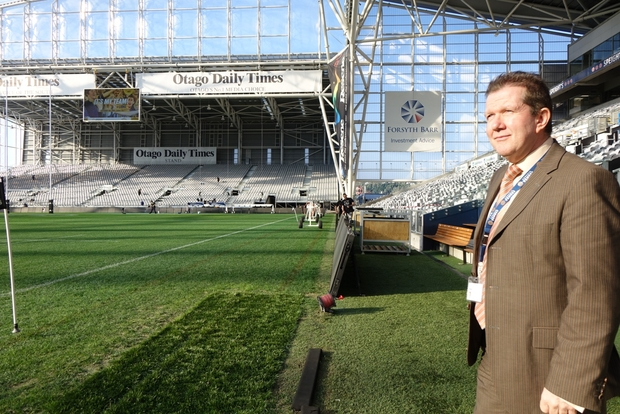 Dunedin Venues Management chief executive Terry Davies.