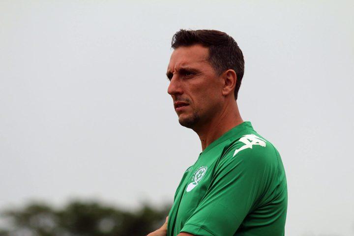 Fiji football coach Christophe Gamel.