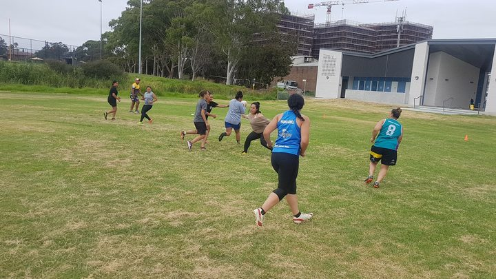The Niue women's rugby league team will make their international debut this weekend.